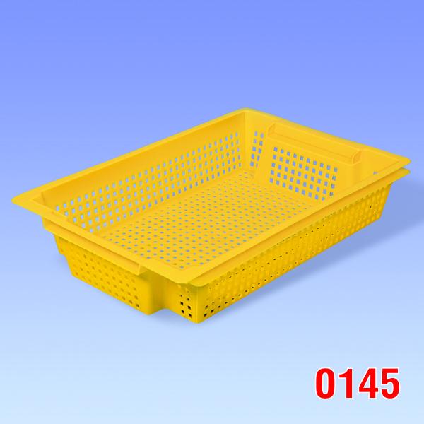 """Container plastic """"Hima"""", cu aerisire 600x400x120"""