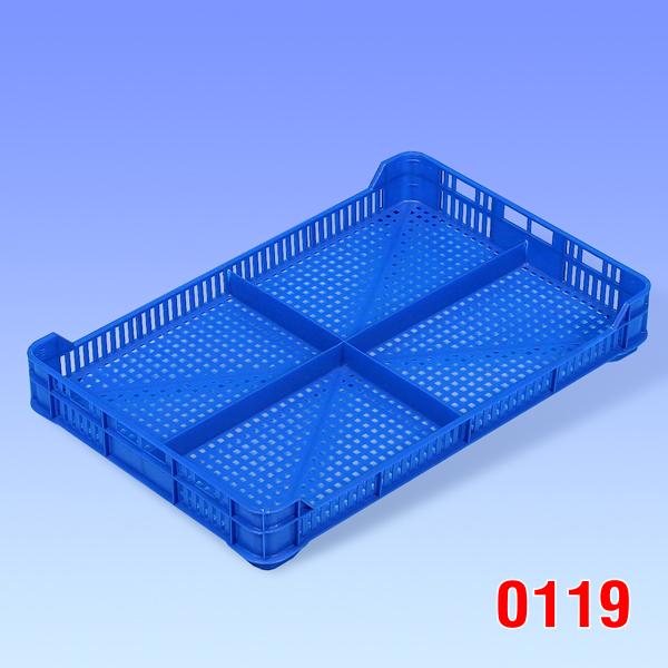 Ladita plastic pentru zmeura 392x258x53