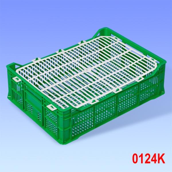 Ladita din plastic de unica folosinta cu capac 406x290x110