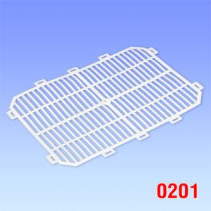 Capac de plastic pentru navete de unica folosinta 406x290x10