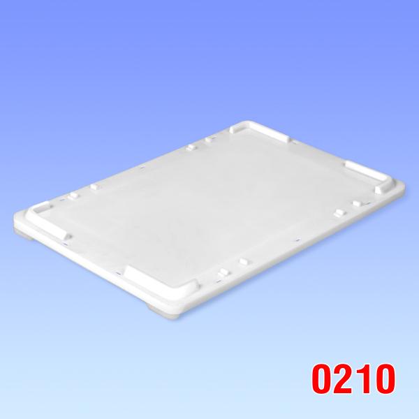 Capac plastic pentru container Maxi 600x400x45