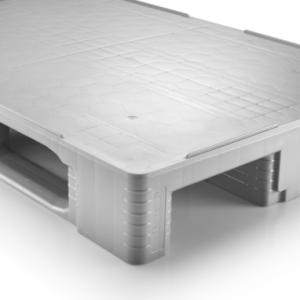 Euro Palet inchis din plastic 1200 x 800 TC1 – 1750 capacitate dinamica