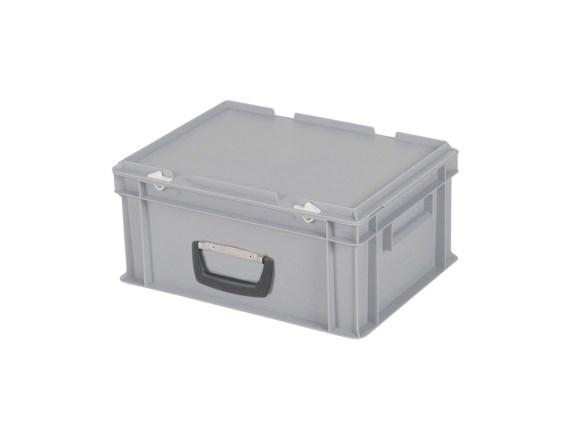 CUTIE DE PLASTIC CU CAPAC SI MANER TPO – 400 x 300 x 190 H
