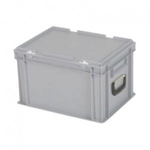 CUTIE DE PLASTIC CU CAPAC SI MANER TPO – 400 x 300 x 250 H
