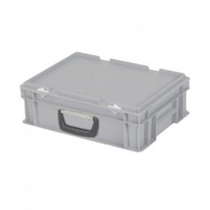Cutie de plastic cu capac si maner TPO 400 x 300