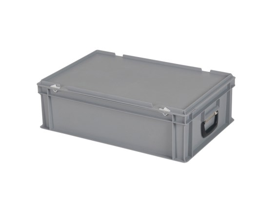 CUTIE DE PLASTIC CU CAPAC SI MANER TPO – 600 x 400 x 185 H