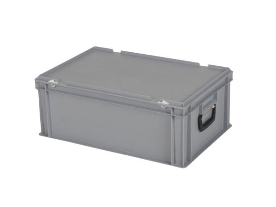 CUTIE DE PLASTIC CU CAPAC SI MANER TPO – 600 x 400 x 235 H