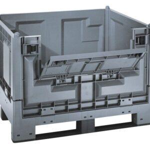 Recipient mare pliabil MegaFold 2187 6 reg. gri inchis 1200 x 1000 x 847 mm
