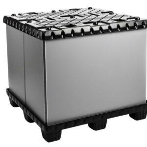 Recipient mare pliabil Mega-Pack 1140 Con gri-negru