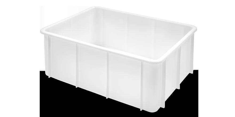 Container Pliabil cu buze curbate si baza intarita 800x600x320