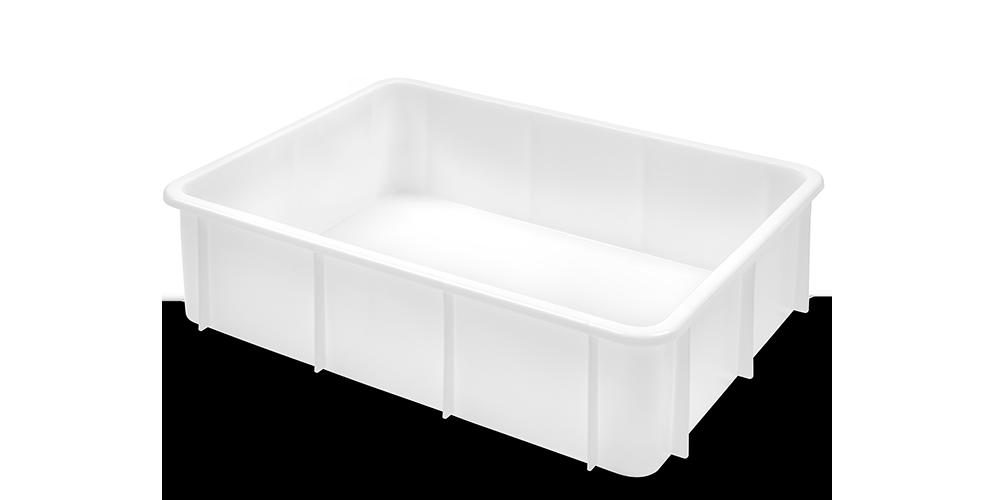 Container Pliabil cu buze curbate si baza intarita 800x600x220