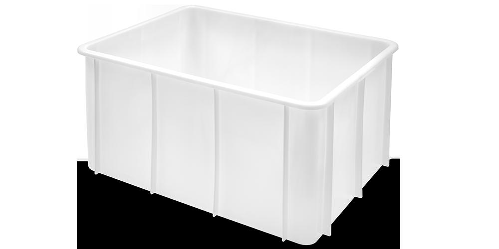 Container Pliabil cu buze curbate 800x600x430