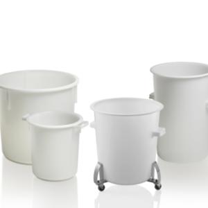 Carucior pentru container de 40 – 110 l reglabile
