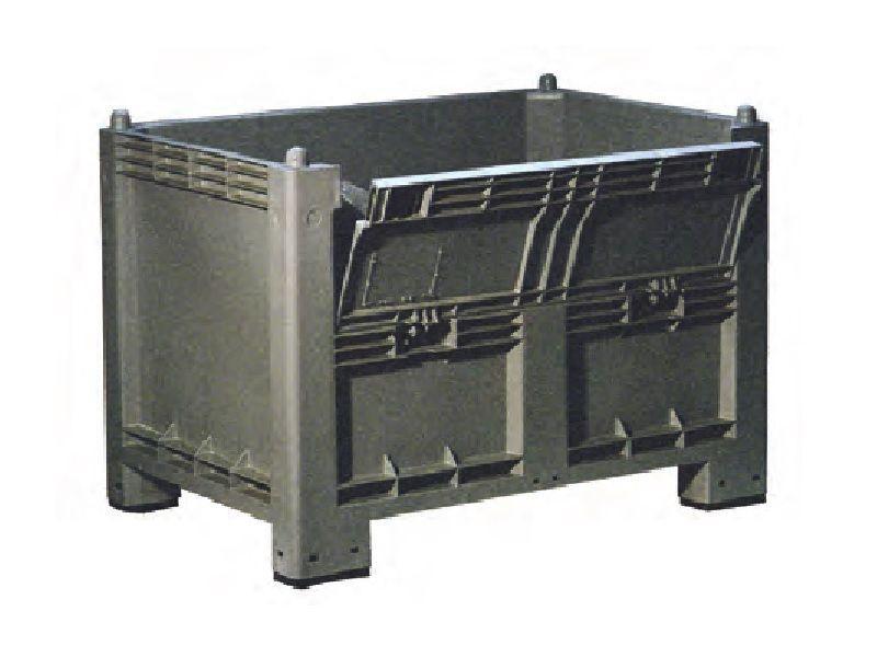 Stivuibil cu usa 500 l 32 kg 1200x800x990 mm Industrial