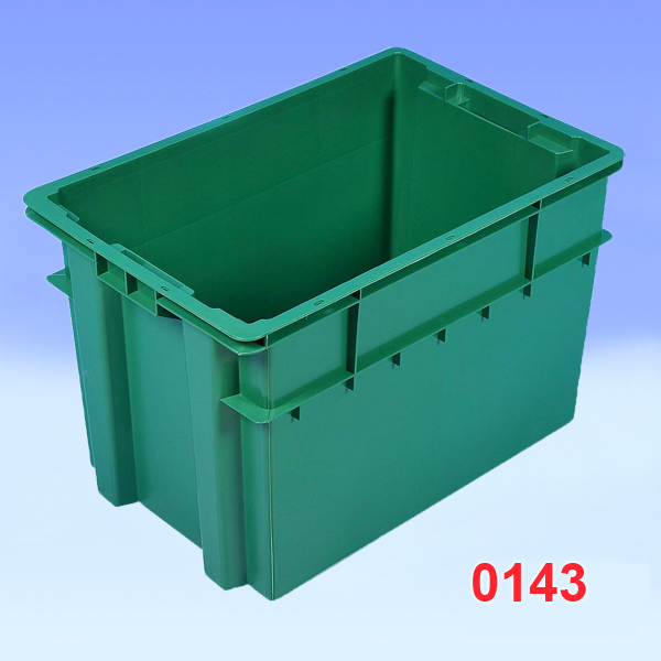 "Container din plastic ""Maxi"", Solid 600x400x400"