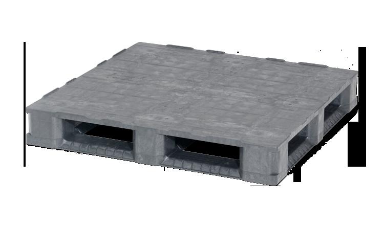 Palet industrial din plastic 1140 x 1140 C7.2