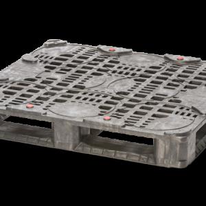 Palet industrial din plastic 1210 x 1110 Keg S9