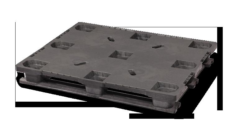 Palet industrial din plastic 1200 x 1000 US5.1