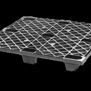 Palet industrial din plastic 1200 x 1000 i1