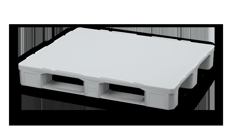 Palet industrial din plastic 1200 x 1000 i7.1