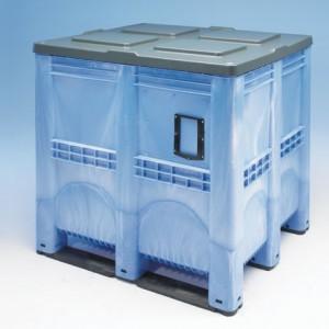Palet tip container 3R cu pereti inchisi 1300 x 1150
