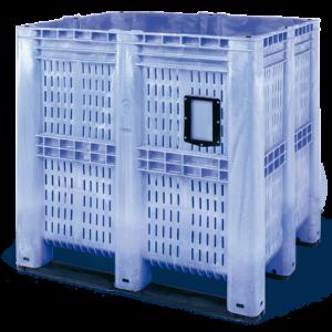 Palet tip container 3R cu pereti ventilati 1300 x 1150