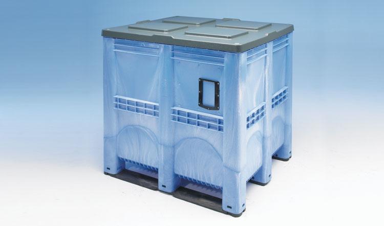Palet tip container 5R cu pereti inchisi 1300 x 1150