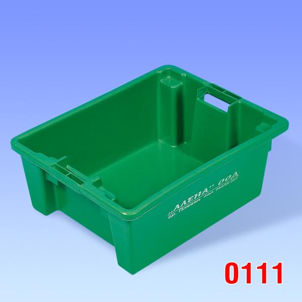 Container plastic pentru carne si peste 500x400x195