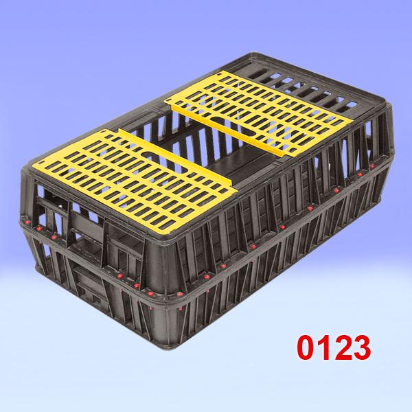 Naveta plastic pentru transport de pasari vii 850x500x300