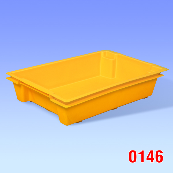 "Container plastic ""Hima"", Solid 600x400x120"